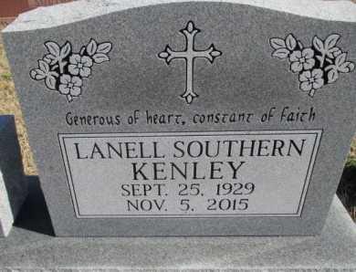 KENLEY, LANELL - Pemiscot County, Missouri | LANELL KENLEY - Missouri Gravestone Photos