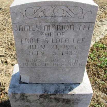 LEE, JAMES MARION - Pemiscot County, Missouri | JAMES MARION LEE - Missouri Gravestone Photos
