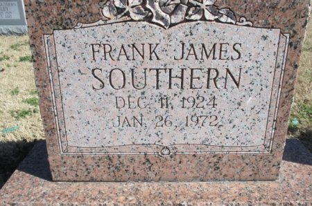 SOUTHERN, FRANK JAMES - Pemiscot County, Missouri | FRANK JAMES SOUTHERN - Missouri Gravestone Photos