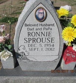 SPROUSE, RONNIE - Pemiscot County, Missouri   RONNIE SPROUSE - Missouri Gravestone Photos