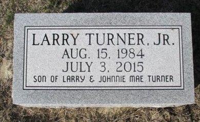 TURNER, LARRY JR. - Pemiscot County, Missouri | LARRY JR. TURNER - Missouri Gravestone Photos