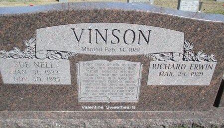 VINSON, SUE NELL - Pemiscot County, Missouri | SUE NELL VINSON - Missouri Gravestone Photos