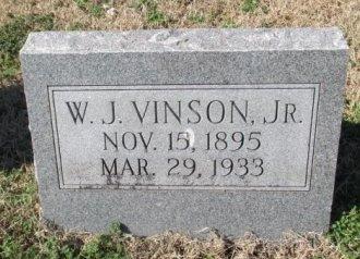 VINSON, WILLIAM JESSE, JR. - Pemiscot County, Missouri | WILLIAM JESSE, JR. VINSON - Missouri Gravestone Photos
