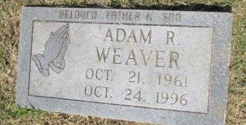 WEAVER, ADAM R. - Pemiscot County, Missouri | ADAM R. WEAVER - Missouri Gravestone Photos