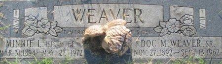 WEAVER, MINNIE L. - Pemiscot County, Missouri | MINNIE L. WEAVER - Missouri Gravestone Photos