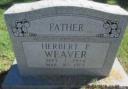 WEAVER, HERBERT P. - Pemiscot County, Missouri | HERBERT P. WEAVER - Missouri Gravestone Photos