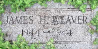 WEAVER, JAMES H. - Pemiscot County, Missouri | JAMES H. WEAVER - Missouri Gravestone Photos
