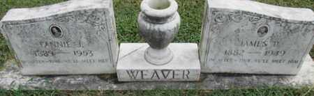 WEAVER, JAMES PICKNEY - Pemiscot County, Missouri | JAMES PICKNEY WEAVER - Missouri Gravestone Photos
