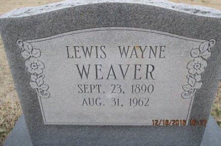 WEAVER, LEWIS WAYNE - Pemiscot County, Missouri   LEWIS WAYNE WEAVER - Missouri Gravestone Photos