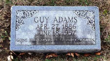 ADAMS, GUY S - Pike County, Missouri   GUY S ADAMS - Missouri Gravestone Photos