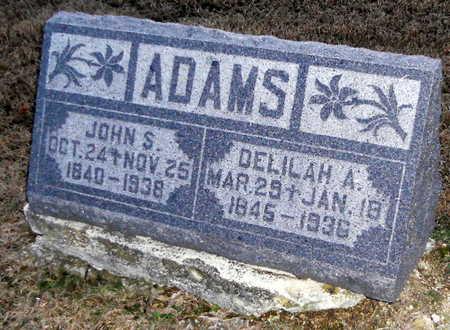 ADAMS, DELILAH A - Pike County, Missouri | DELILAH A ADAMS - Missouri Gravestone Photos
