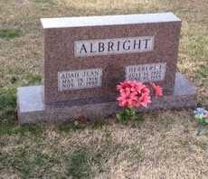 ALBRIGHT, ADAH JEAN - Pike County, Missouri | ADAH JEAN ALBRIGHT - Missouri Gravestone Photos