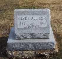 ALLISON, CLYDE - Pike County, Missouri | CLYDE ALLISON - Missouri Gravestone Photos