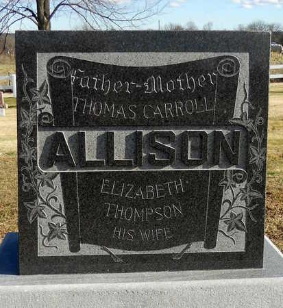 THOMPSON ALLISON, ELIZABETH - Pike County, Missouri   ELIZABETH THOMPSON ALLISON - Missouri Gravestone Photos