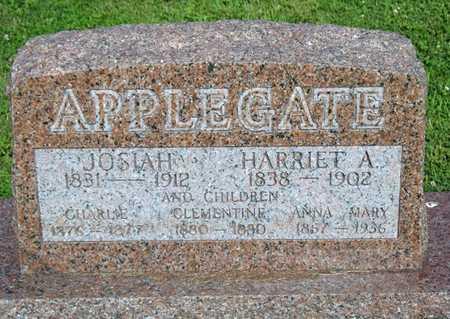 APPLEGATE, ANNA MARY - Pike County, Missouri | ANNA MARY APPLEGATE - Missouri Gravestone Photos