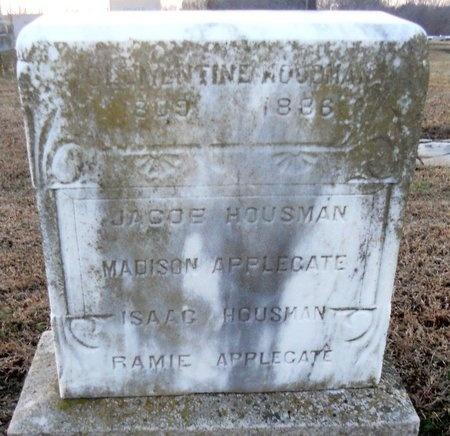 HOUSMAN, CLEMENTINE - Pike County, Missouri | CLEMENTINE HOUSMAN - Missouri Gravestone Photos