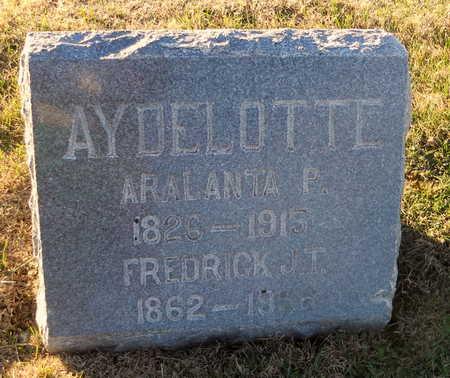 AYDELOTTE, FREDRICK J T - Pike County, Missouri | FREDRICK J T AYDELOTTE - Missouri Gravestone Photos