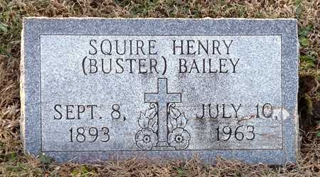 "BAILEY, SQUIRE HENRY ""BUSTER"" - Pike County, Missouri 