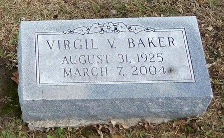 BAKER, VIRGIL V - Pike County, Missouri | VIRGIL V BAKER - Missouri Gravestone Photos