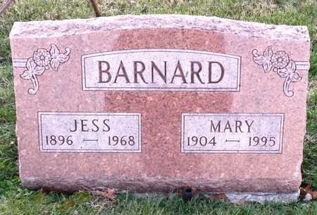 BARNARD, MARY - Pike County, Missouri | MARY BARNARD - Missouri Gravestone Photos