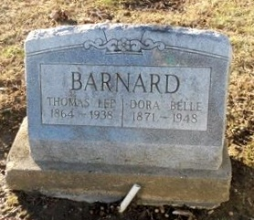 BARNARD, DORA BELLE - Pike County, Missouri | DORA BELLE BARNARD - Missouri Gravestone Photos