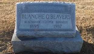 BEAVERS, BLANCHE O - Pike County, Missouri | BLANCHE O BEAVERS - Missouri Gravestone Photos