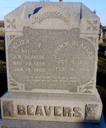 LEWELLEN BENN, ELIZA ANN - Pike County, Missouri | ELIZA ANN LEWELLEN BENN - Missouri Gravestone Photos