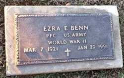 BENN, EZRA EVERETT VETERAN - Pike County, Missouri | EZRA EVERETT VETERAN BENN - Missouri Gravestone Photos
