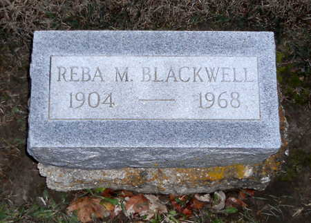 BLACKWELL, REBA M - Pike County, Missouri | REBA M BLACKWELL - Missouri Gravestone Photos