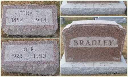 BRADLEY, EDNA T - Pike County, Missouri | EDNA T BRADLEY - Missouri Gravestone Photos