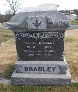BRADLEY, PLEASANT MYRA - Pike County, Missouri | PLEASANT MYRA BRADLEY - Missouri Gravestone Photos