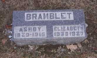 BRAMBLET, ASHBY - Pike County, Missouri | ASHBY BRAMBLET - Missouri Gravestone Photos