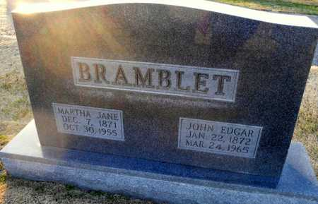 "BRAMBLET, MARTHA JANE ""MATTIE"" - Pike County, Missouri 