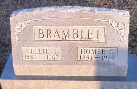 BRAMBLET, HOMER C - Pike County, Missouri | HOMER C BRAMBLET - Missouri Gravestone Photos