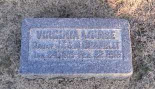 BRAMBLET, VIRGINIA LOUISE - Pike County, Missouri | VIRGINIA LOUISE BRAMBLET - Missouri Gravestone Photos