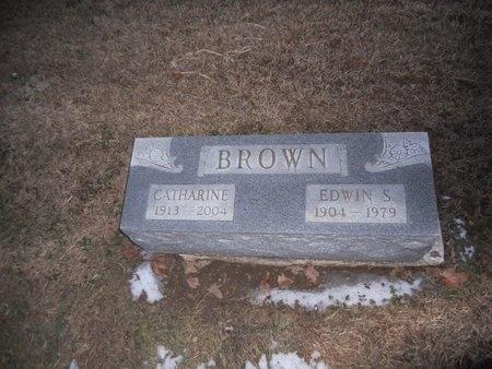 BROWN, EDWIN S - Pike County, Missouri | EDWIN S BROWN - Missouri Gravestone Photos