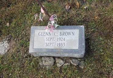 BROWN, GLENN C - Pike County, Missouri | GLENN C BROWN - Missouri Gravestone Photos