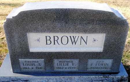 BROWN, LILLIE ELVIRA - Pike County, Missouri | LILLIE ELVIRA BROWN - Missouri Gravestone Photos