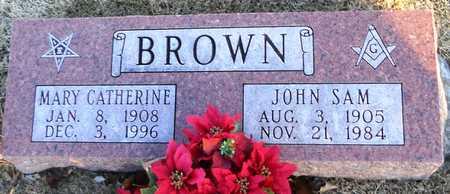 BROWN, MARY CATHERINE - Pike County, Missouri | MARY CATHERINE BROWN - Missouri Gravestone Photos