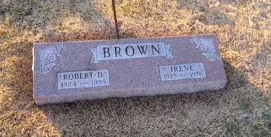 BROWN, IRENE - Pike County, Missouri | IRENE BROWN - Missouri Gravestone Photos