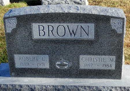 BROWN, CHRISTIE M - Pike County, Missouri   CHRISTIE M BROWN - Missouri Gravestone Photos