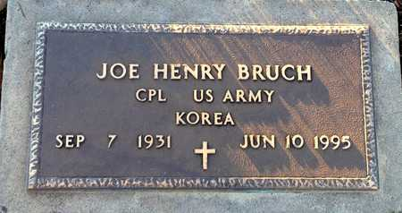 BRUCH, JOE HENRY VETERAN - Pike County, Missouri | JOE HENRY VETERAN BRUCH - Missouri Gravestone Photos