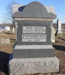 KENNEDY BUCKS, ELLEN - Pike County, Missouri | ELLEN KENNEDY BUCKS - Missouri Gravestone Photos