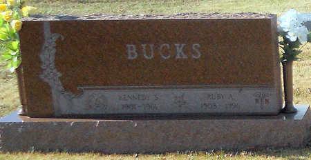 BUCKS, KENNEDY STRATTON - Pike County, Missouri | KENNEDY STRATTON BUCKS - Missouri Gravestone Photos