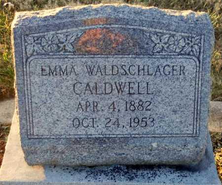 CALDWELL, EMMA - Pike County, Missouri | EMMA CALDWELL - Missouri Gravestone Photos
