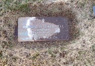 CALDWELL, GLENN H (VETERAN WWI) - Pike County, Missouri | GLENN H (VETERAN WWI) CALDWELL - Missouri Gravestone Photos
