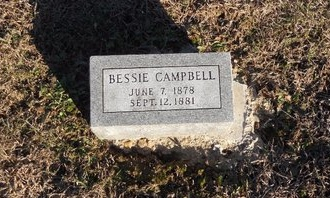 CAMPBELL, BESSIE - Pike County, Missouri | BESSIE CAMPBELL - Missouri Gravestone Photos