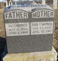 STARK CAMPBELL, BINA - Pike County, Missouri | BINA STARK CAMPBELL - Missouri Gravestone Photos
