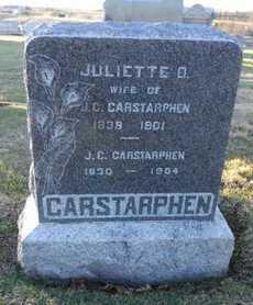 CARSTARPHEN, JULIETTE D - Pike County, Missouri | JULIETTE D CARSTARPHEN - Missouri Gravestone Photos