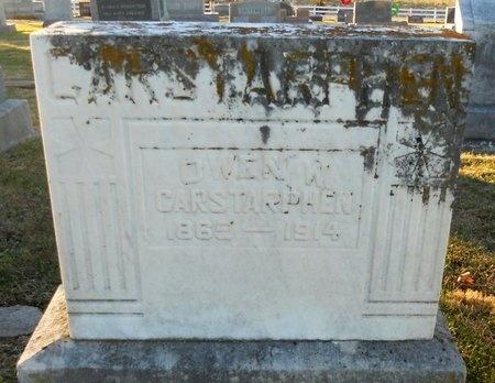 CARSTARPHEN, OWEN W - Pike County, Missouri | OWEN W CARSTARPHEN - Missouri Gravestone Photos